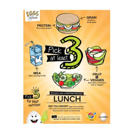 MyPlate Pick3 Lunch Medres